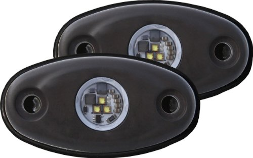 Rigid Industries 48227 A-Series Cool Tri-Plex High Strength LED Light, (Set of 2) by Rigid Industries
