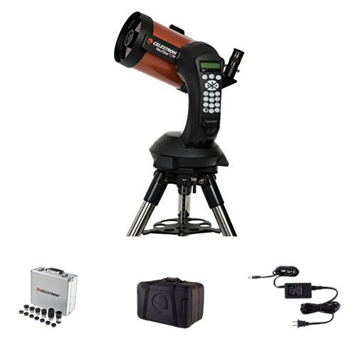 Celestron NexStar 5 SE Telescope w/ Accessory Kit, Carrying Case, and AC Adapter