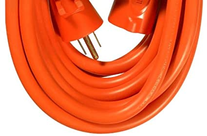 Woods 518 0 SJTW Extension Cord, 3 10 Awg Bare Conductor, 100 Ft L, 15 A, 125 Vac 100-Foot Copper - - Amazon.com