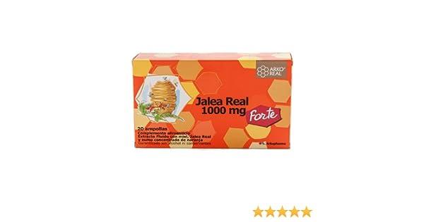ARKO JALEA REAL FRESCA 1000 MG FORTE 20 AMPOLLAS: Amazon.es: Salud y cuidado personal