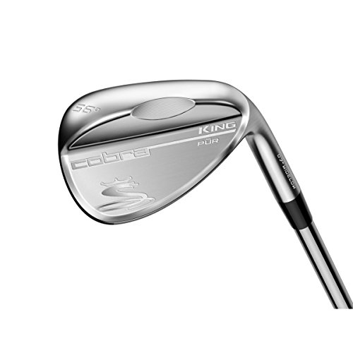 (2017 Cobra King Raw Wedge (Men's, Right Hand, Steel, Wedge Flex, Wide Low Grind, 60.0 Degree))