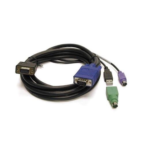 LINKSKEY C-KVM-SC10 10 ft 3-in-1 USB ps/2 kvm combo cable