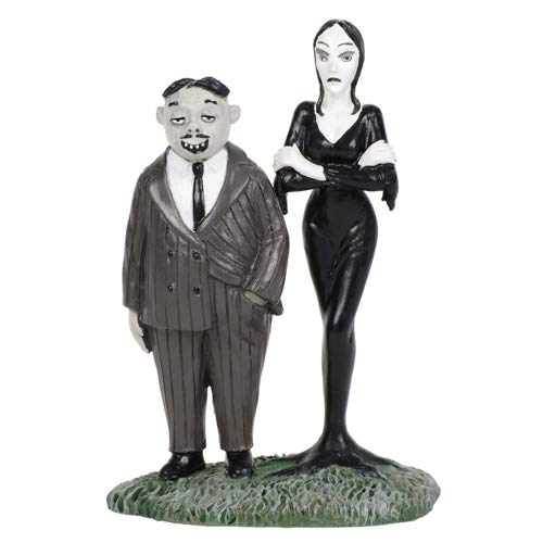 Department56 Addams Family Village Accessories Gomez and Morticia Figurine, 2.76