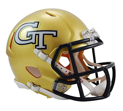 NCAA Georgia Tech Yellow Jackets Speed Mini Helmet