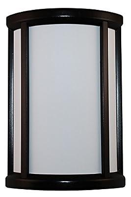 "Heathco SL-7871-02 5.75"" X 8.62"" Black/White Wireless Door Chime Kit"