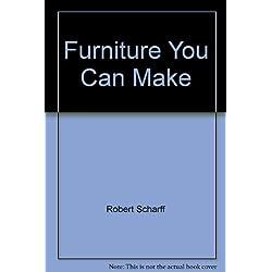 Furniture You Can Make