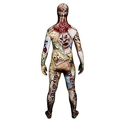 Skull and Bones Morphsuit Monster Costume