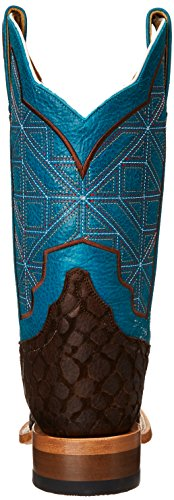 WN Boot Puzzle Cinch Women's Turquoise Brown Western qwEICxI1