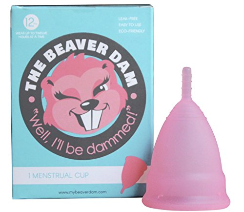 The Beaver Dam Menstrual Cup (Large, Pink)