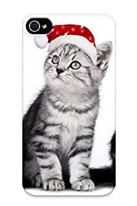 Flyinghouse Ultra Slim Fit Hard Case Cover Specially Made For Iphone 4/4s- Cute Cats