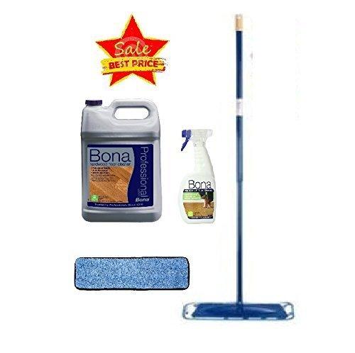 - Bona Pro Series Hardwood Floor Cleaner Refill with Starter Kit