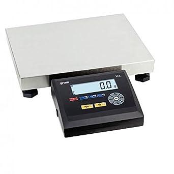 Gram 0004484 Báscula Digital Industrial de Alto Rendimiento para Todo Tipo de Aplicaciones, Capacidad de 30.000 g y Resolución 5, 00 g: Amazon.es: Industria ...
