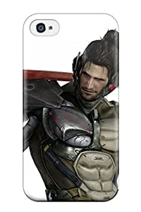 New Anne Marie Harrison Super Strong Metal Gear Rising Sam Tpu Case Cover For Iphone 4/4s