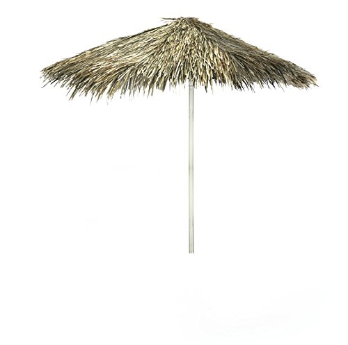 - Best of Times 1020W1304 Tiki-PALAPA 8 ft Tall Square Market Umbrella, One Size Brown