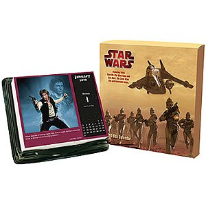 Star Wars Trivia 2010 Daily Box Calendar -