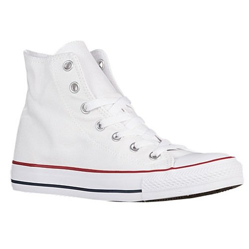 Converse All-Star Chuck Taylor Hi-Top Sneakers (14 M US Mens, White)