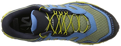 SALEWA Ms Ultra Train, Botas De Senderismo Para Hombre Blanco / Negro   (Siberia / Night Black 3990)
