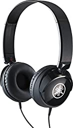 Yamaha HPH-50B Compact Closed-Back Headphones