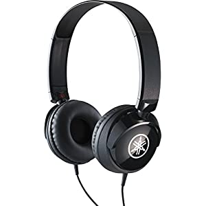 Yamaha HPH-50B Compact Closed-Back Headphones, Black