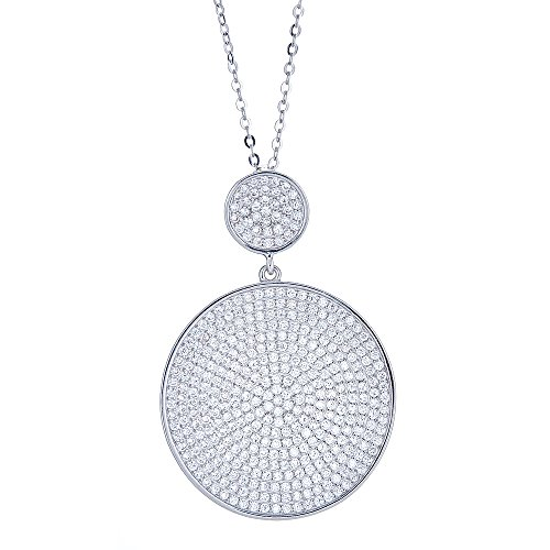 Sterling Silver Disc Design Women
