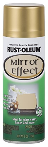 Rust-Oleum 286477 Specialty Spray Paint 6 Oz, Gold Mirror -