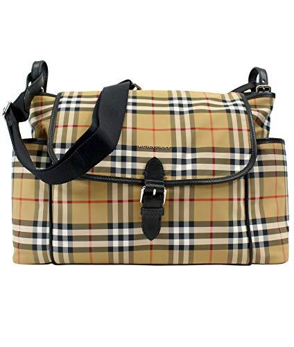 Burberry Women's 8007083 Beige Fabric Messenger Bag