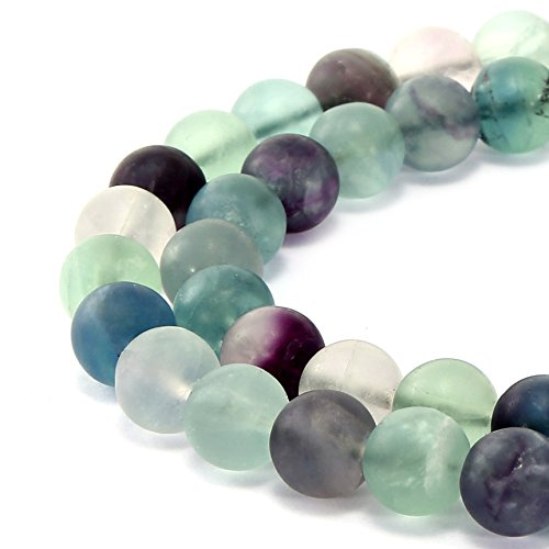 BRCbeads Gorgeous Natural Fluorite Gemstone