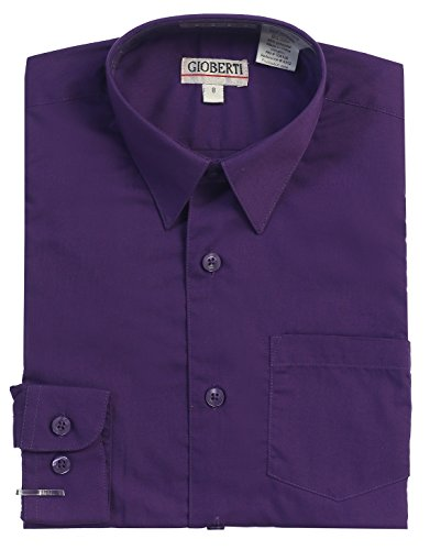 4t purple dress shirt - 1
