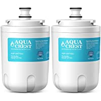 AQUACREST UKF7003 Replacement Refrigerator Water Filter, Compatible with Maytag UKF7003, UKF7002AXX WF288, Whirlpool EDR7D1, EveryDrop Filter 7 (Pack of 2)