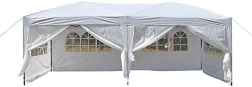 Befied Carpa Pabellón Plegable Impermeable 3x6 M para soportes ...