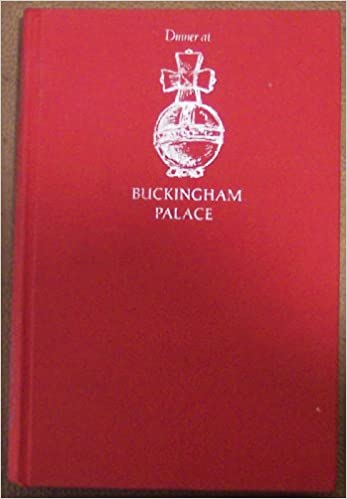 Dinner At Buckingham Palace By Oliver Charles 1972 Hardcover