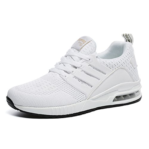 Casual Respirante Sneakers Course Adulte Homme Air Femme Shoes Sports De mastery Mixte H Outdoor Running Chaussures Blanc Fitness Gym Baskets vYwFqTPx