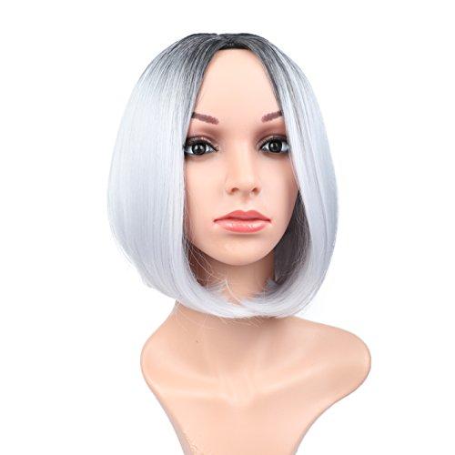 Fani  (Short Grey Wig)