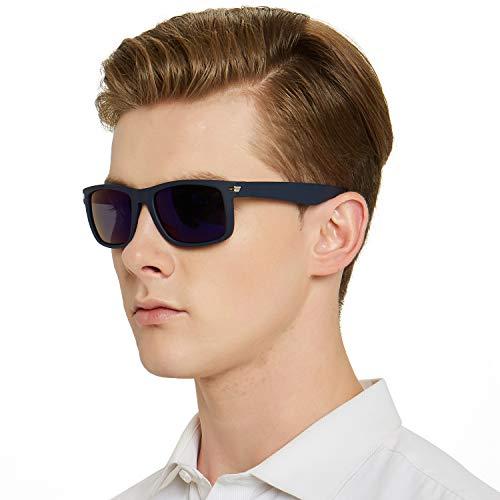 anteojos de sol polarizadas para hombres y mujeres, rectangulares, acetato, irrompible, para conducir, para hombres y...