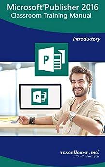 Microsoft Publisher Training Classroom Tutorial ebook product image