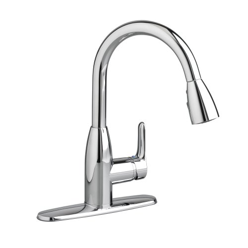 American Standard 4175300F15.002 Colony Soft PULL-DOWN Kitchen Faucet with 1.5 gpm Aerator, Polished Chrome