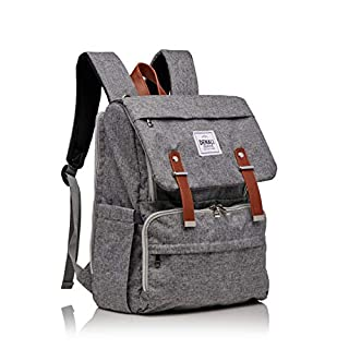 Denali Collective - Adventurer Diaper Bag Backpack, Water and Stain Resistant Unisex Baby Bag with Changing Pad and Stroller Straps for Outdoors/Travel