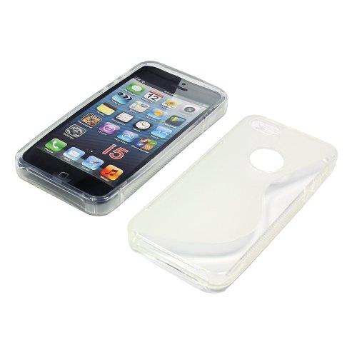 OTB TPU Case Compatible avec l'iPhone 5/iPhone 5S S de Curve Transparent
