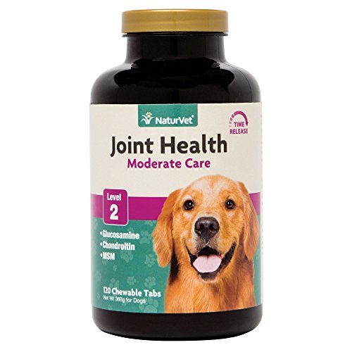 NaturVet Joint Health Time Release Level 2-Maximum Hip & Joint Dog Supplement