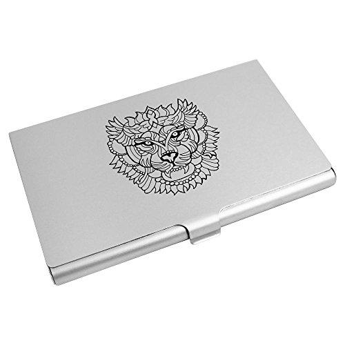 'Abstract Azeeda Lion Business Head' Card Holder CH00007580 Wallet Card Credit PqqdO1