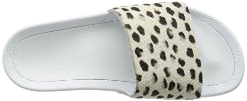 ADIDAS Adilette Premium Sandalen Weiß