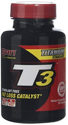 San T3 Supplement Capsules, Standard, 90-Count