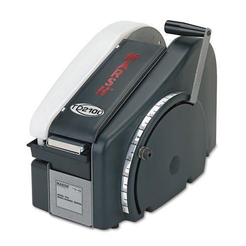 - Manual Tape Dispenser For Gummed Tape w/48oz Reservoir, Steel Blades, Black, Sold as 1 Each