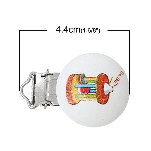 Amazon.com: 10 piezas de Baby Chupete Clips Holder Clasps ...