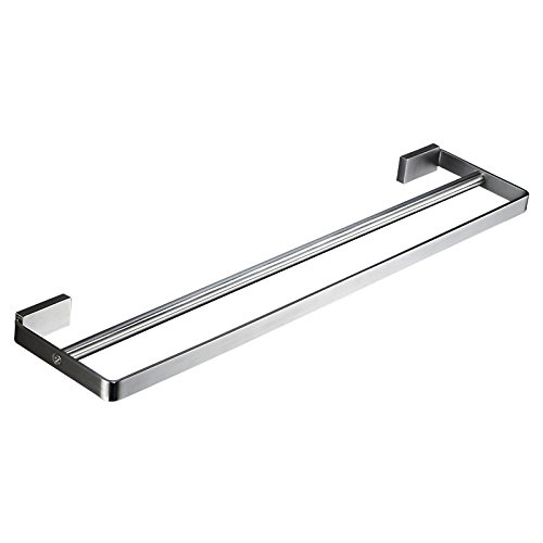 BESy 24-inch Double Towel Bar SUS 304 Stainless Steel Bathro