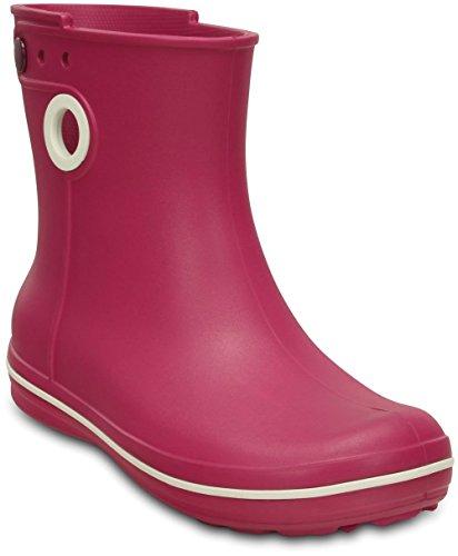 Rain Berry Jaunt Lining Shorty Boots Pink Warm Women Crocs XnSf7R8x