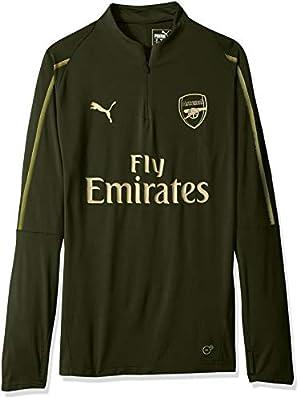 PUMA Men's Arsenal Fc 1/4 Top with Zipped Pocket