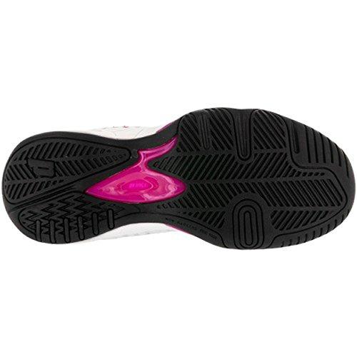 Vikingbrands Viking Chaussures De Tennis Pour Femmes, Blanc / Gris / Rose