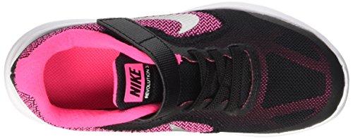 NIKE Kids' Revolution 3 Running Shoe (PSV), Black/Metallic Silver/Hyper Pink/White, 1.5 M US Little Kid by Nike (Image #8)