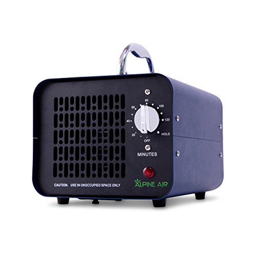 Alpine Air Commercial Ozone Generator  4000 mg/h   Professional O3 Air Purifier, Ozonator and Ionizer   Heavy Duty Air Cleaner, Deodorizer and Sterilizer   Best for Odor Stop Control